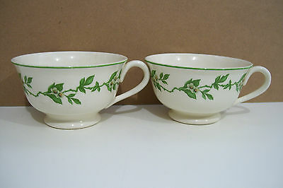 Adam Antique By Steubenville Dinnerware Orange Blossom 2 Cups No Saucers