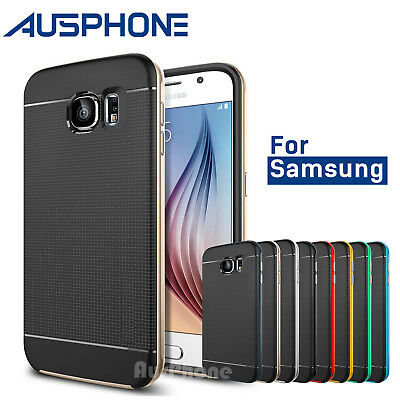 S8 / S7 / S6 / Plus / Edge Shockproof Armor Hybrid Bumper Case Cover for Samsung
