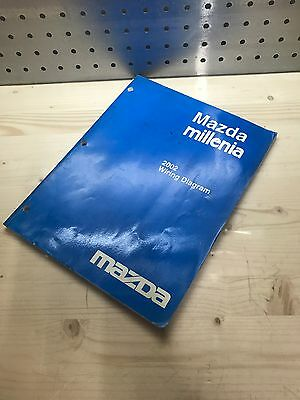 mazda car truck manuals literature parts accessories 2002 mazda millenia factory oem wiring diagram service repair manual