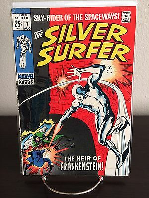 The Silver Surfer #7 (Aug 1969, Marvel) - Fine/Fine+