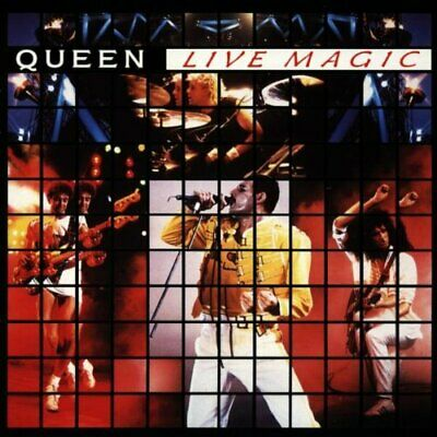 QUEEN - Live Magic - QUEEN CD 56VG The Cheap Fast Free Post The Cheap Fast Free