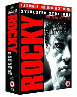 Rocky: The Complete Saga [DVD] - DVD  M8VG The Cheap Fast Free Post