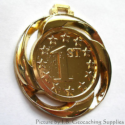 """1st to Find Geocaching Trackable (1.5"""" + Cutouts + Unactivated)"""