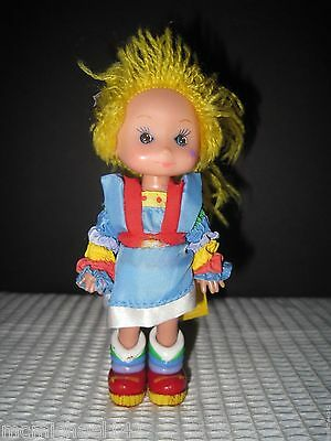 "Vintage 1983 Hallmark Rainbow Brite Bright 4.5"" Action Figure Doll"