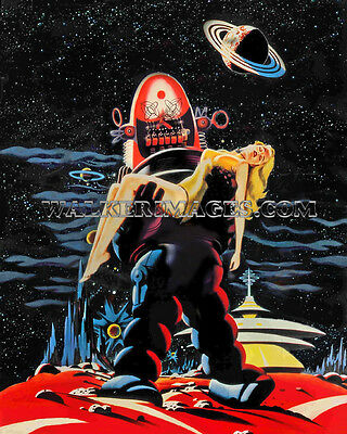 106 1956 Movie Photo Forbidden Planet Print Robby The Robot Poster