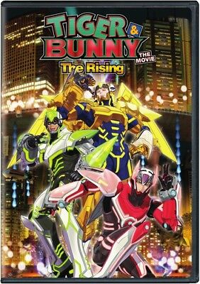 Tiger & Bunny The Movie 2: Rising DVD