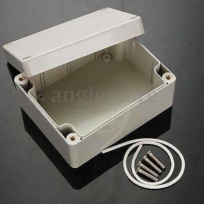 ABS PLASTIC ELECTRONICS PROJECT BOX ENCLOSURE HOBBY CASE SCREW IP65 115x90x55mm