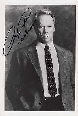 EASTWOOD - Clint Eastwood - original signiert - signed - 18a