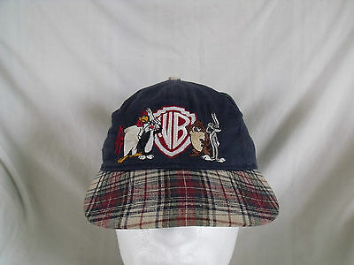 Vintage Collectable Warner Bros studio store Looney Tunes Gang Baseball Cap 1995