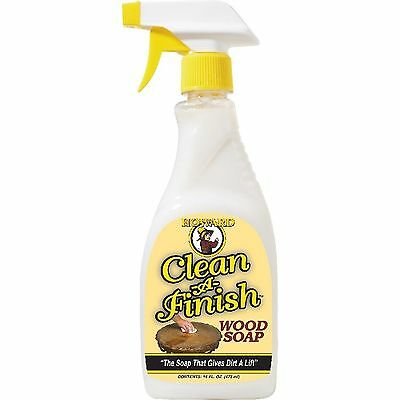 Howard CF0016 Clean-A-Finish Wood Soap  Oil 16 oz.