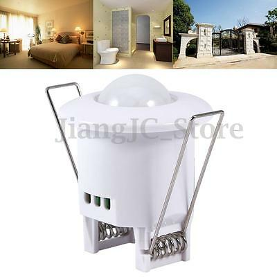 360° PIR IR Infrared Motion Sensor Detector Light Switch Hallway Occupancy Lamp