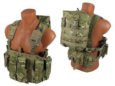 Russian molle pals paintball vest airsoft chest rig multicam kit №43 Ak  saiga