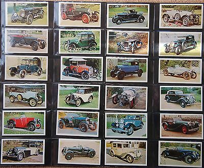 Doncella, Imperial Tobacco, Golden Age of Motoring 24 cards,1975