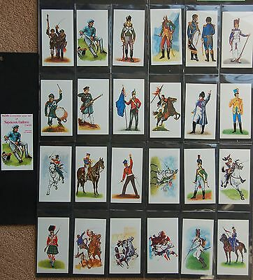 Doncella, Imperial Tobacco, Napoleonic Uniforms, 24 + 1 (completion) cards,1980