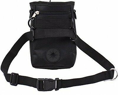 Hubulk Dog Treat Training Pouch , With Adjustable Shoulder Strap And Zippered