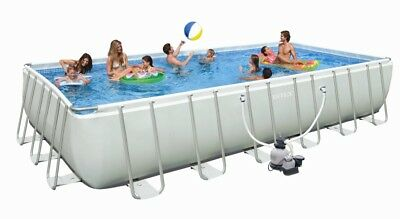 INTEX Swimming Pool Ultra-Frame 732x366x132 cm 28362 GS