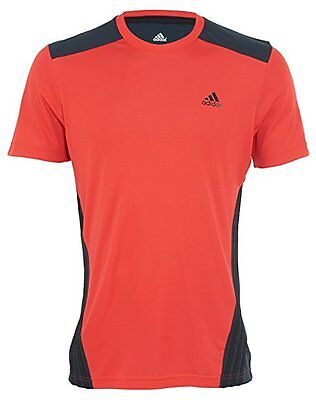 huge selection of newest collection outlet ADIDAS CLIMACOOL STYLE F86280 Men's T-shirt Red Black Size ...