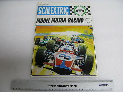 Vintage 1969 Scalextric Model Motor Racing Catalog 12th edition slot cars