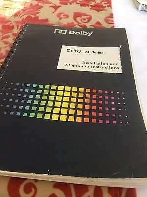 Dolby A Noise Reduction M Series Installation Manual