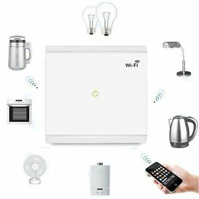 Wireless Smart Home Wifi Lighting Power Switch Wall Control Touch Panel EP-3713