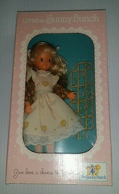 1980's Li'l Miss Sunny Bunch Girl Doll 8 Inches New in Box Sears 49-30051