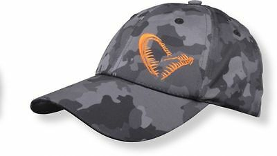 Savage Gear Black Savage Cap Baseball Cap Pike Carp Fishing Hat One Size 50837
