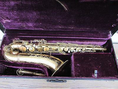 Conn 10M Naked Lady Tenor Saxaphone