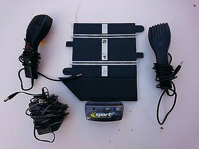 Scalextric Power base C8217 (from Drift set) 2 Controllers and Mains Unit - used
