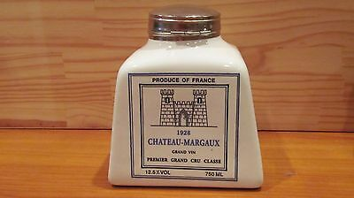 Chateau Margaux Grand Vin  France   Square Wine Bottle / Display Decanter