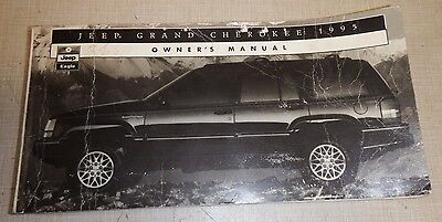 1995 Jeep Grand Cherokee Zj Owners Manual 95 Factory Original Limited