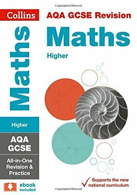 AQA GCSE 9-1 Maths Higher All-in-One Revision and Practice (C... by Collins GCSE