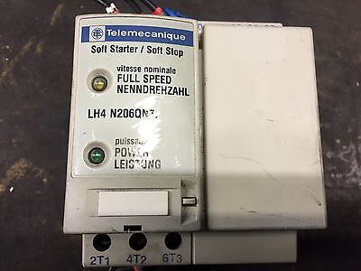 Telemecanique Soft Starter Soft Stop LH4 N206QN7 3hp 2.2Kw 6a