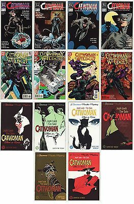 89 Catwoman 1 - 4, Catwoman/wildcat 1 - 4, When In Rome 1 - 6: All Nm, 14 Books!