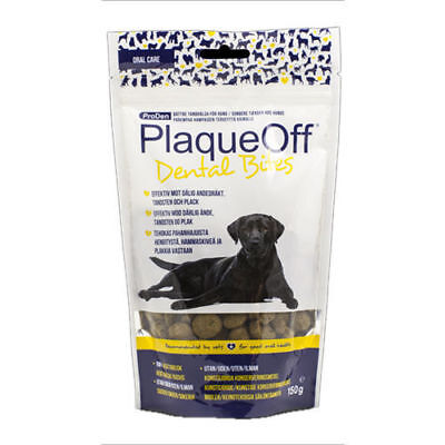 Plaqueoff Dental Bites For Dog 150g Tooth Care Controls Bad Breath Plaque Tartar