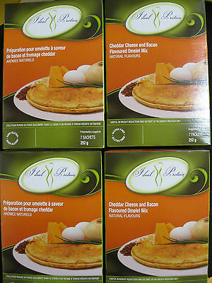 Ideal Protein Cheddar Cheese And Bacon Omelet Mix (4 Boxes Of 7)
