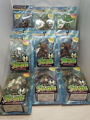 SPAWN DELUXE EDITION ACTION FIGURE LOT 1995-96 MIP Todd McFarlane Toys