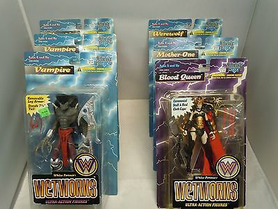 WETWORKS ACTION FIGURE LOT COMPLETE / SEALED PICK & CHOOSE Todd McFarlane Toys