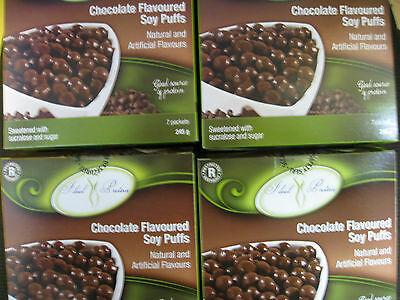 Ideal Protein Chocolate Flavoured Soy Puffs(4 Boxes Of 7)
