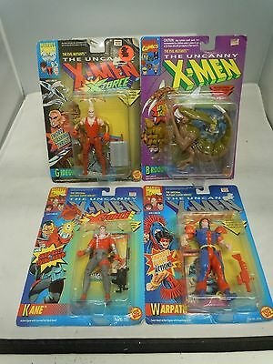X-MEN X-FORCE MISC ACTION FIGURE LOT 92-95 SEALED Vtg PICK&CHOOSE Toy Biz