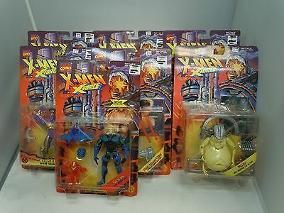 X-MEN X-FORCE ACTION FIGURE LOT 95-96 SEALED Vtg PICK&CHOOSE Toy Biz