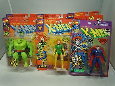 X-MEN ACTION FIGURE LOT 94-96 SEALED Vtg PICK&CHOOSE Toy Biz