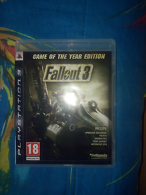 Fallout 3 Goty Game Of The Year Pal Ita Italiano Playstation 3 Ps3
