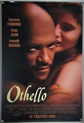 Othello Ds Rolled Orig 1Sh Movie Poster Laurence Fishburne Irene Jacob (1995)