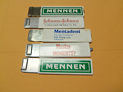 lot  of 5  advertising box cutters