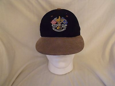 1999 Ryder Cup Baseball Cap, Ryder Cup 1927-1999 The Country Club Glenmuir 1891
