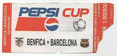 Portugal Pepsi Cup Benfica - Barcelona Soccer Ticket