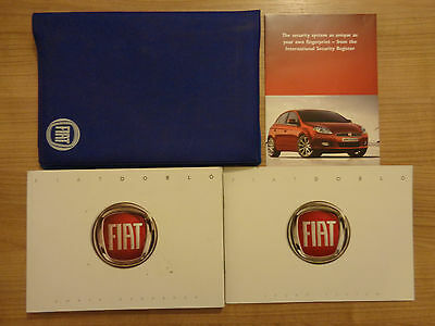 Fiat Doblo Owners Handbook/Manual and Wallet 10-16