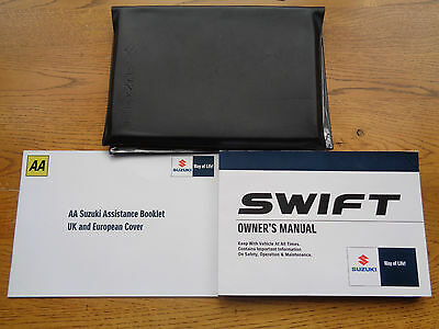 Suzuki Swift Owners Handbook/Manual and Wallet 05-10