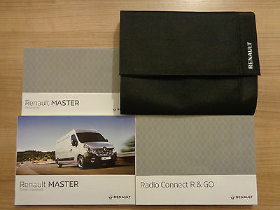 Renault Master Owners Handbook/Manual and Pack 15-17