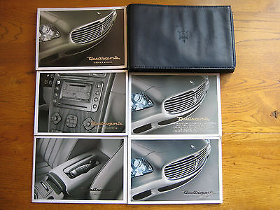 Maserati Quattroporte Owners Handbook Manual and Wallet
